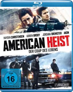 American Heist - Artwork - 02 Blu-ray