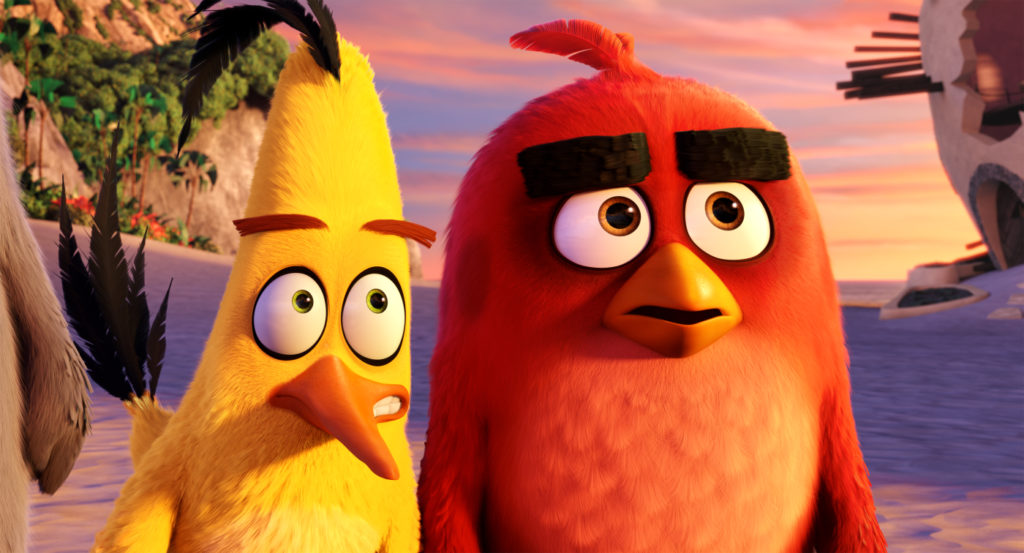 Angry Birds Movie - Szenen - 05 Chuck, Red